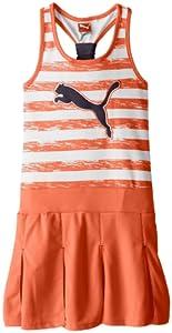 PUMA Girls 7-16 Striped Pleated Tank Dress by Puma - Kids