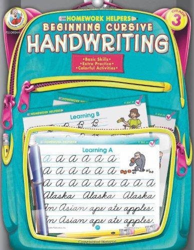 Homework help and cursive