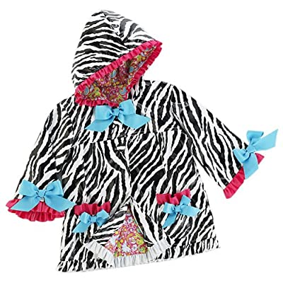 Wild Child Zebra Rain Coat 12-18 months