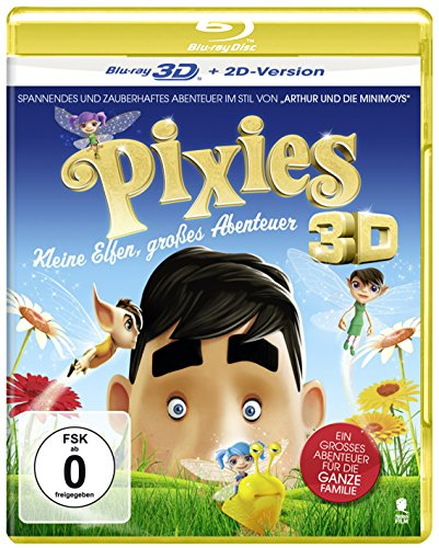 Pixies - Kleine Elfen, großes Abenteuer [3D Blu-ray + 2D Version]