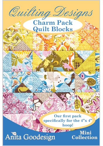 Anita Goodesign ~ Charm Pack Quilt Blocks ~ Quilt Deisgns