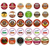 Holiday,Winter and Seasonal Flavors Coffee,Tea,Hot Cocoa and Cider Single Serve and K CUPS for Keurig Brewer (30 count)