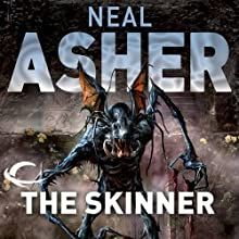 The Skinner: The Spatterjay Series: Book 1 (       UNABRIDGED) by Neal Asher Narrated by William Gaminara