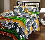 RajasthaniKart Cartoon Print Reversible AC Blanket (Soft, Skin friendly, Single Bed)