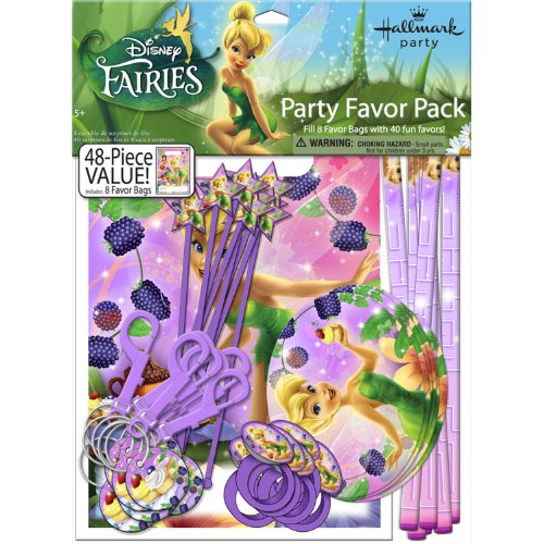 Tinkerbell Sweet Treats Party Favor Set
