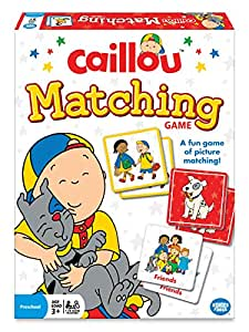 Wonder Forge The Wonder Forge Caillou Matching Game