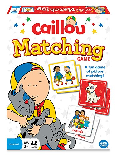 The Wonder Forge Caillou Matching Game - 1