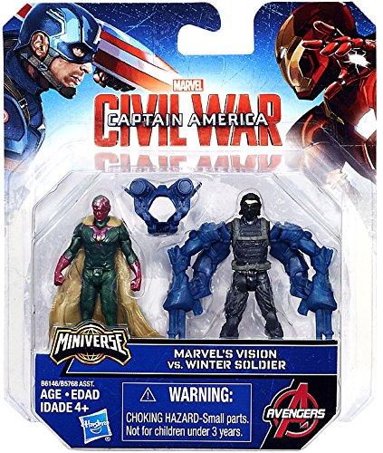 Marvel Captain America: Civil War Winter Soldier v. Marvel's Vision