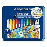 Staedtler 228 M10 Noris Club Wax Crayon Pack of 10