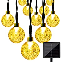 LightsEtc 15.7ft 20LED Solar String Lights (Warm White)