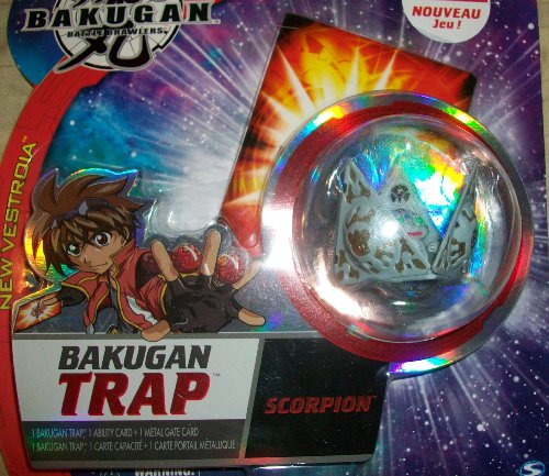 Bakugan TRAP Luminoz (Grey) Tripod Epsilon New Vestroia Baku