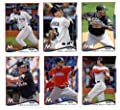 2010,2011,2012,2013 & 2014 Topps Miami Marlins Baseball Card Team Sets (Complete Series 1 & 2 From All Five Years )