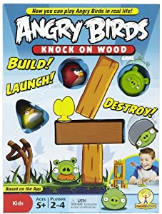 Angry Birds Knock On Wood Board Game by Mattel