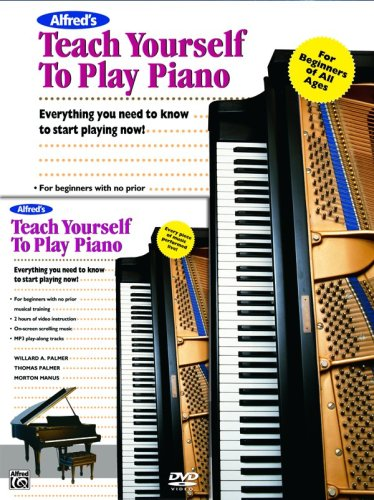 Alfred's Teach Yourself to Play Piano (Book & DVD) (Teach Yourself Series)