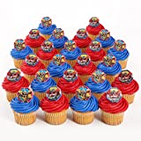 Transformers Officially Licensed 24 Cupcake Topper Rings