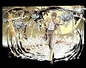 "Death Note Light Kira L Anime 18"" poster 038 C"
