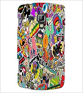 PrintDhaba Graffiti D-5568 Back Case Cover for SAMSUNG GALAXY S DUOS 2 S7582 (Multi-Coloured)