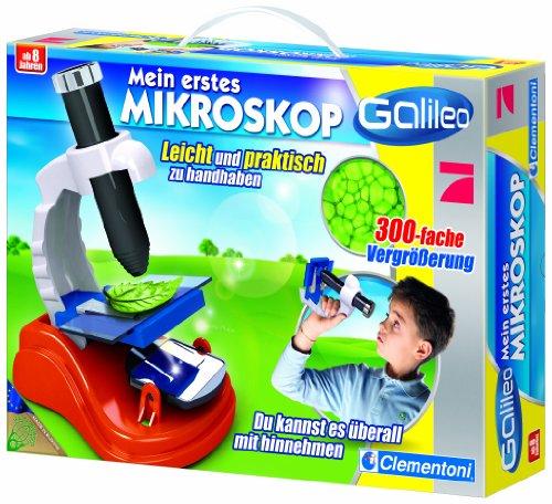Clementoni 69235.4 - Galileo Kids - Mein erstes Mikroskop