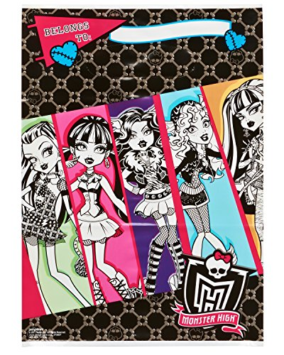 American Greetings Monster High Treat Bags (Party Supplies) (8-Pack)