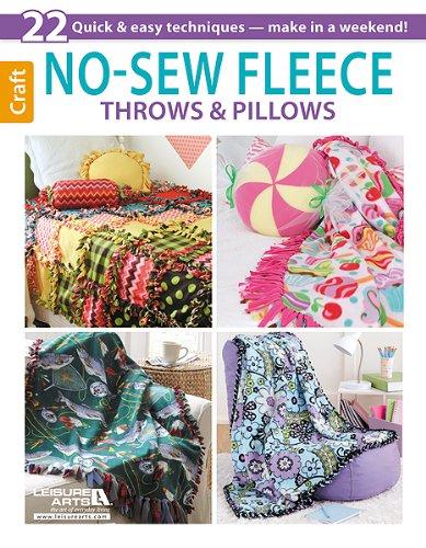 No-Sew Fleece Throws & Pillows front-1004736