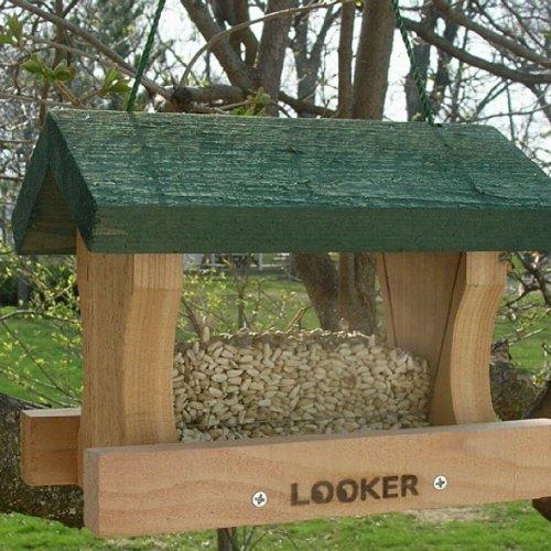 Cheap Looker Products Little Looker Cedar Bird Feeder (B005DI2HEG)