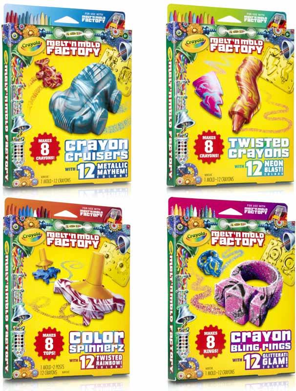 Crayola Crayon Maker Molds