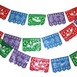 Plastic Mexican Cutout Banner