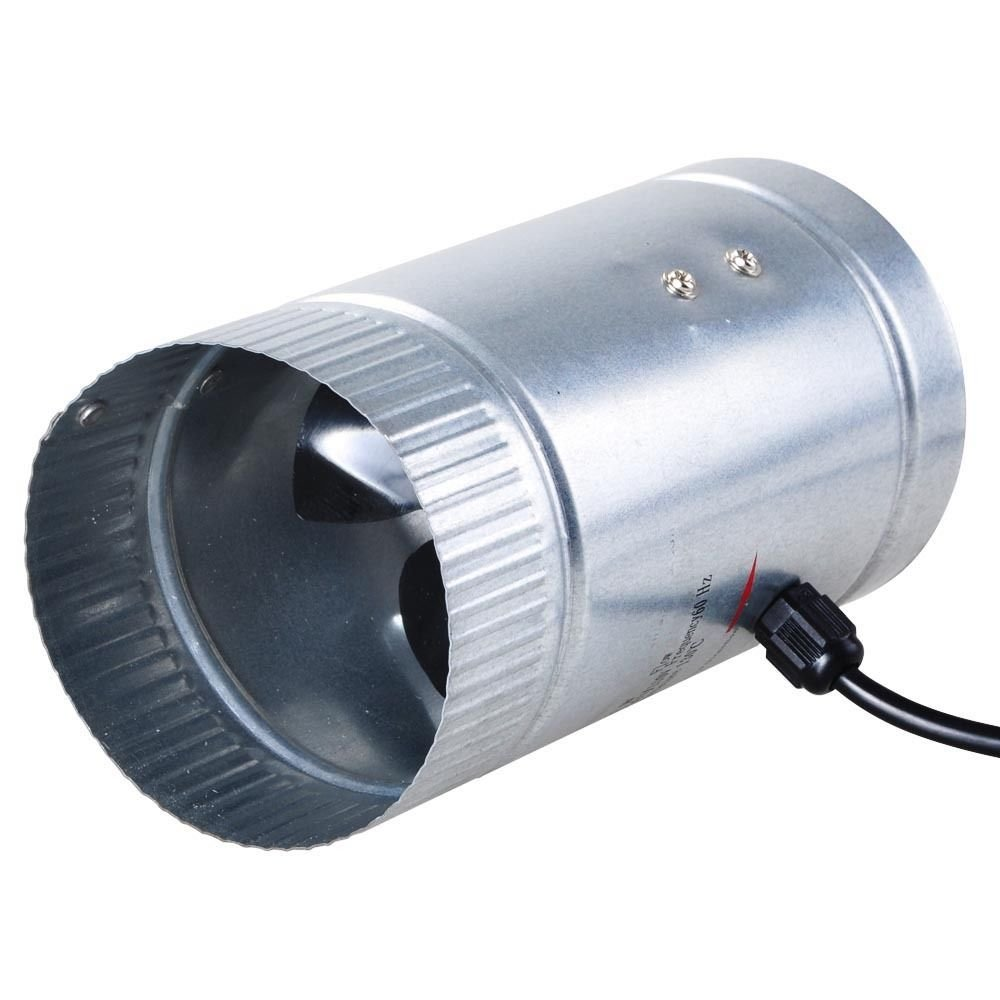 Duct Blower Fan : Quot inch inline duct booster cooling fan exhaust blower