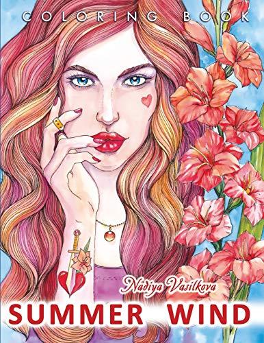 Summer wind Coloring book [Vasilkova, Nadiya] (Tapa Blanda)