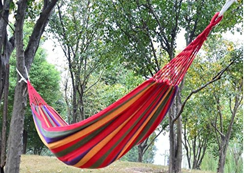 Travel Camping Hammock Portable Carvas Outdoor