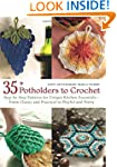 35+ Potholders to Crochet: Step-by-St...