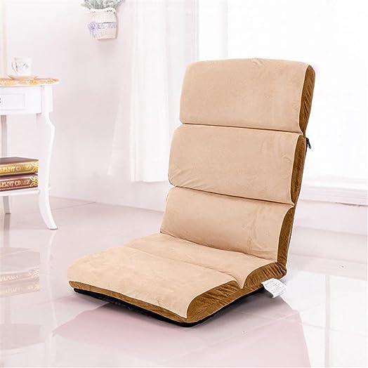 Divano pieghevole divano singolo pigro Tatami Sedia semplice da salotto Divano letto ribaltabile e lavabile , 6