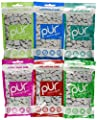 Pur Gum 6-flavor Assortment (Spearmint, Peppermint, Pomegranate Mint, Wintergreen, Cinnamon, Coolmint)