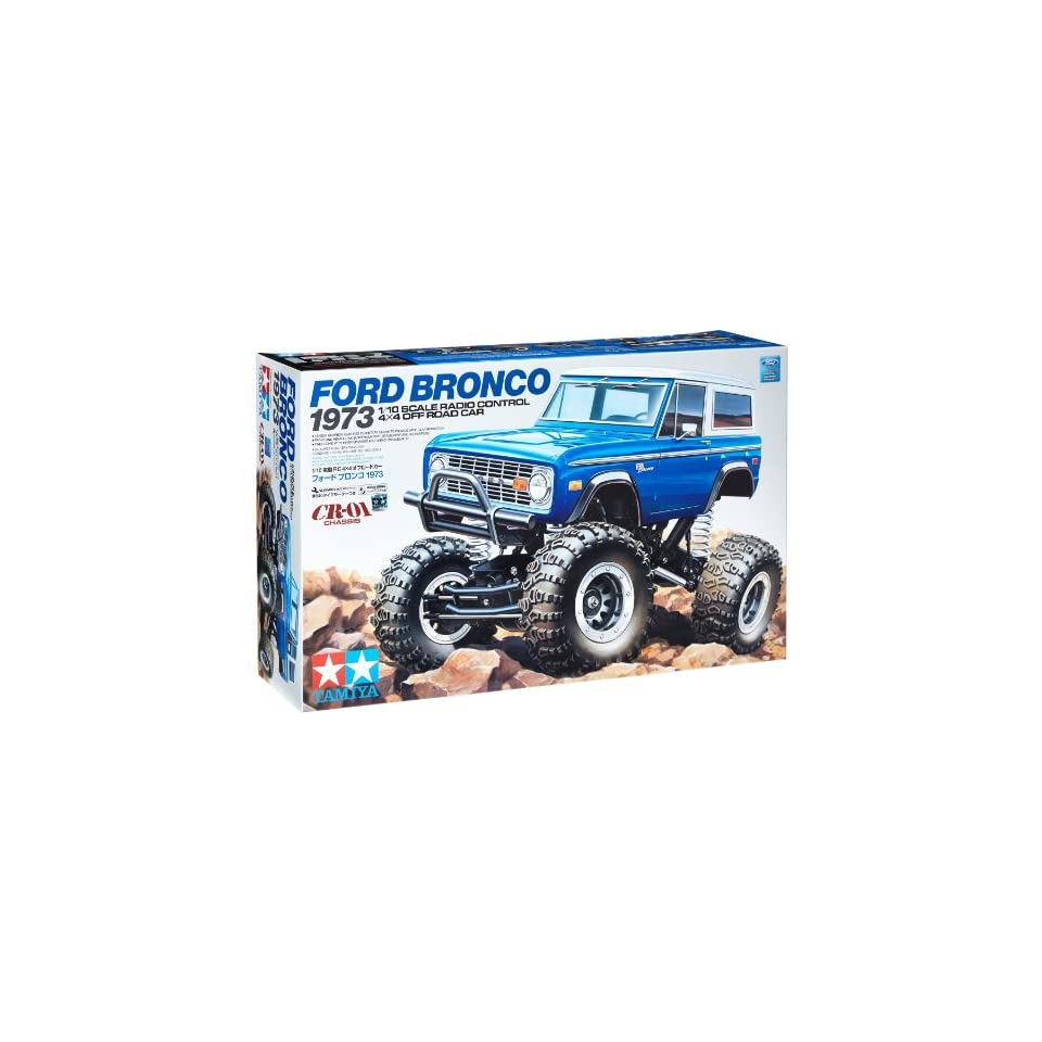 Tamiya 1973 Ford Bronco CR01 Crawler