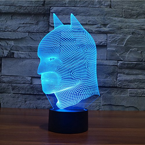 Batman 3D Illusion LED Night Lamp