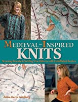 Medieval-Inspired Knits: Stunning Brocade and Swirling Vine Patterns With Embellished Borders