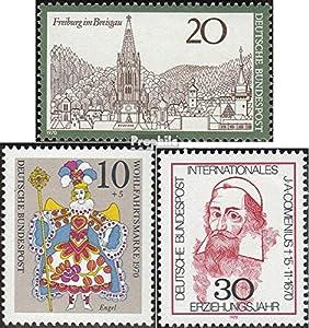 BRD (BR.Deutschland) 654,655,656 (kompl.Ausg.) postfrisch 1970 Freiburg, Weihnachten, Comenius (Briefmarken für Sammler)