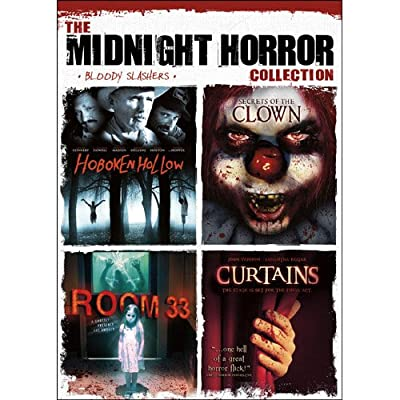 The Midnight Horror Collection: Bloody Slashers (Hoboken Hollow / Secrets of the Clown / Room 33 / Curtains)