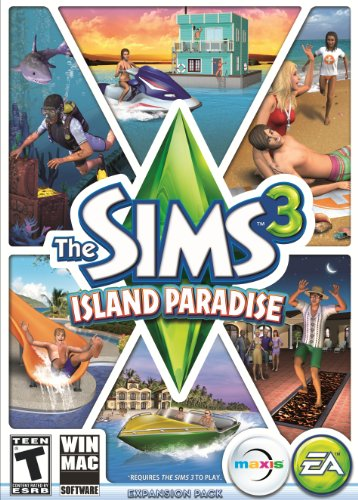 The Sims 3 Island Paradise - Standard Edition (Mac) [Online Game Code] front-852406