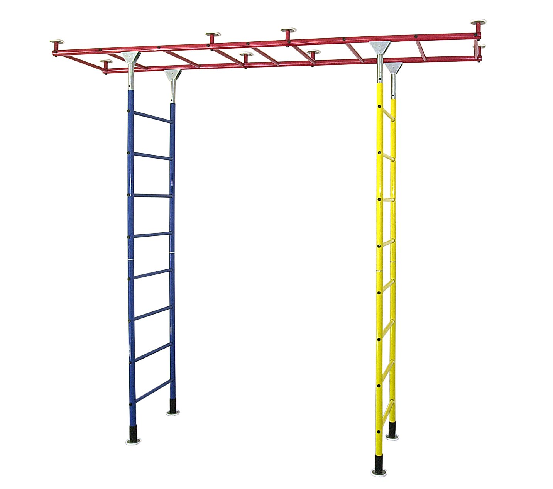 Kletterdschungel Sprossenwand Indoor Kletterwand Brücke Grundgerüst, drei Größen jetzt bestellen