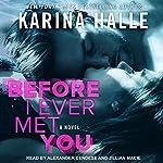 Before I Ever Met You   Karina Halle