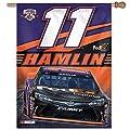 NASCAR Denny Hamlin Vertical Flag, 27 x 37-Inch