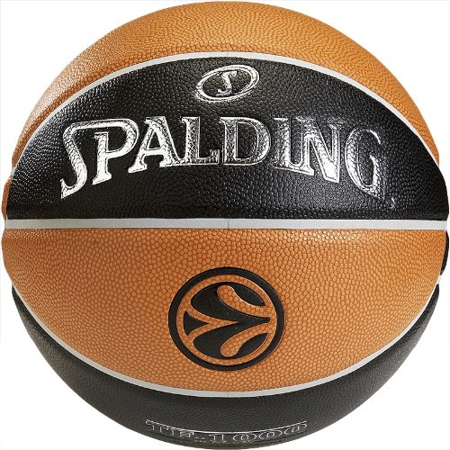 Spalding Basketball Euroleague TF1000 Legacy 74-538z, Orange, 7, 3001512010317