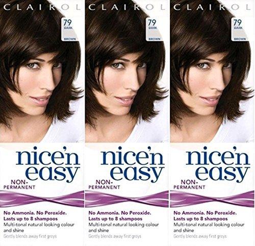 six-packs-of-clairol-nice-n-easy-loving-care-79-dark-brown