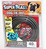 40 Super Beast Heavy Duty Tie-out for Dogs up to 250lbs