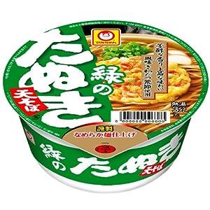 緑のたぬき天そば(東)101g×12個