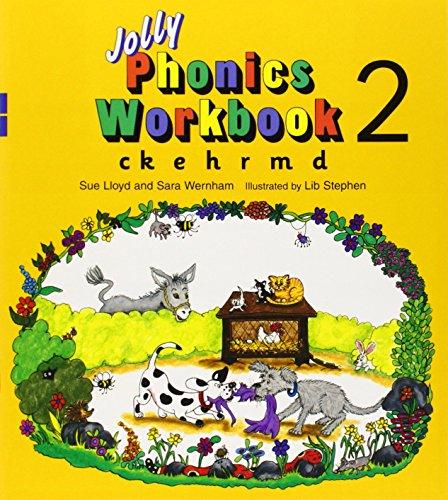 Jolly phonics workbook 2 (ck e h rm d)