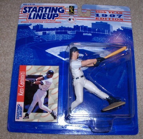1997 Ken Caminiti MLB Starting Lineup Extended Series Figure