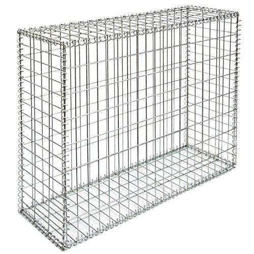 Gabbione sassi 100x80x30 cm gabbia metallica deco for Sassi x giardino prezzi