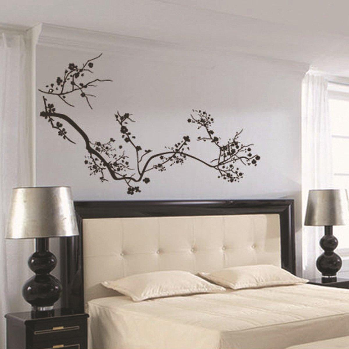 Yesurprise vinilo decorativo para sal n y dormitorio - Pegar vinilo en pared ...